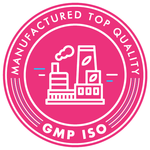 GMP ISO Quality Standards Badge For Vapeur Terp