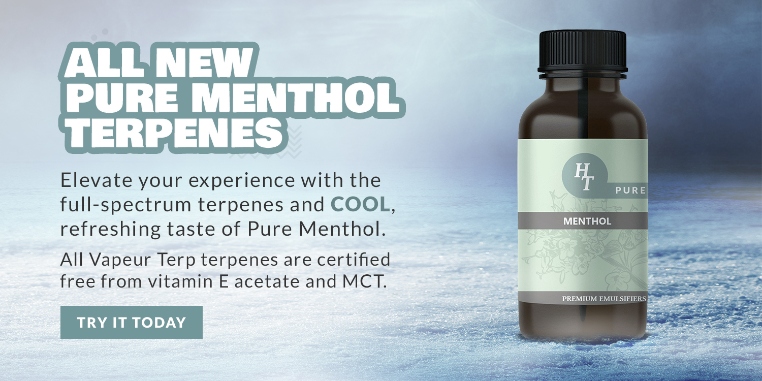 New Pure Menthol Terpenes